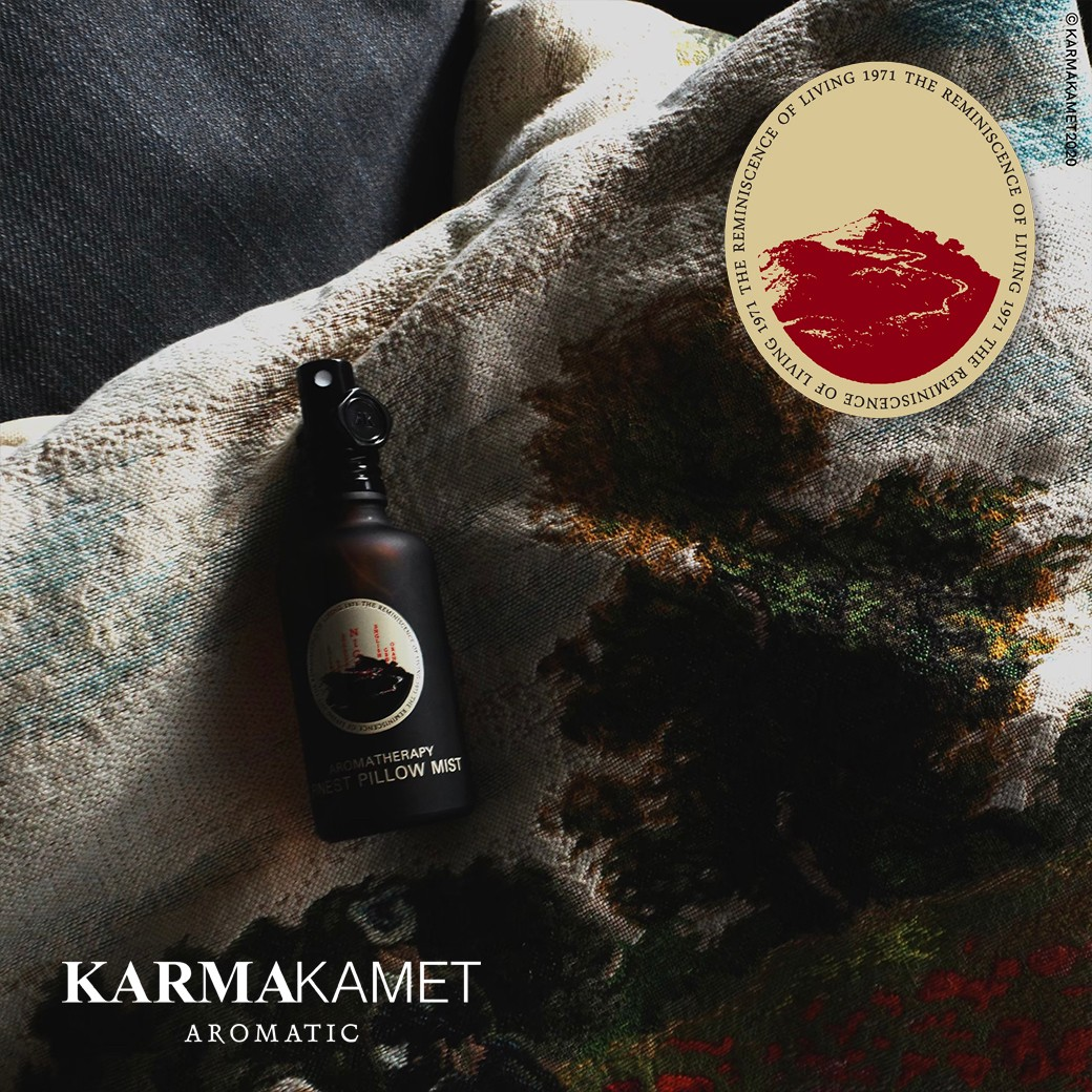 Karmakamet Aromatherapy Finest Pillow Mist สเปรย์น้ำมันหอมระเหย
