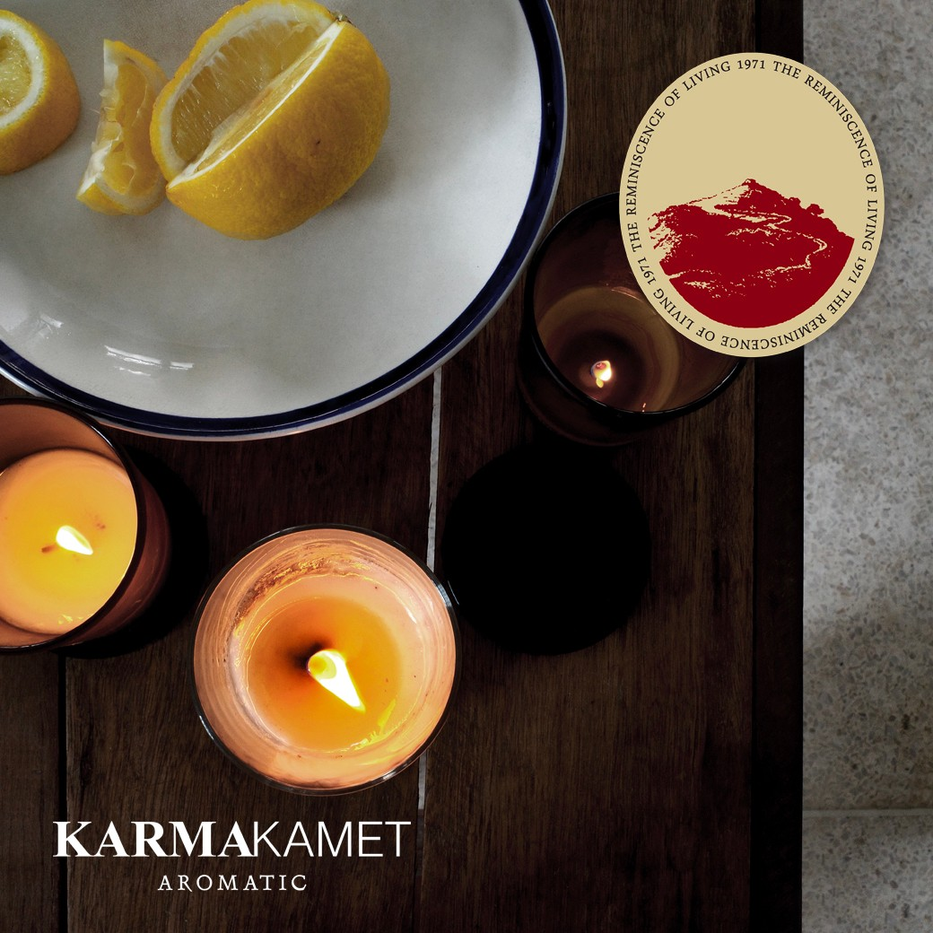 Karmakamet Aromatic Glass Candle